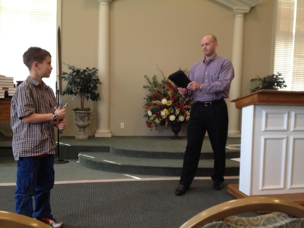 Andy Wilson teaches Luke about Hebrews 4:12