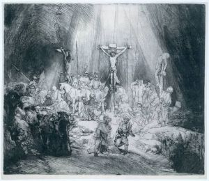 Rembrandt TheThreeCrosses 1653