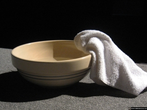 Basin and the Towel